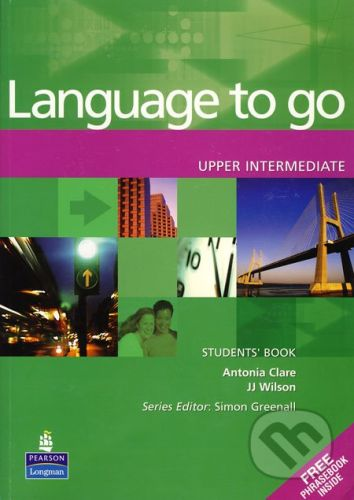 Pearson Language to go - Upper Intermediate - Antonia Clare, JJ Wilson cena od 618 Kč