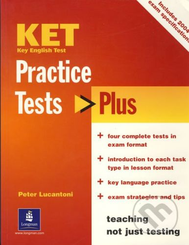 Pearson KET - Practice Tests - Plus - Peter Lucantoni cena od 618 Kč