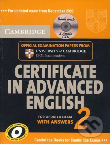 Cambridge University Press Certificate in Advanced English for updated Exam with Answers 2 - cena od 639 Kč