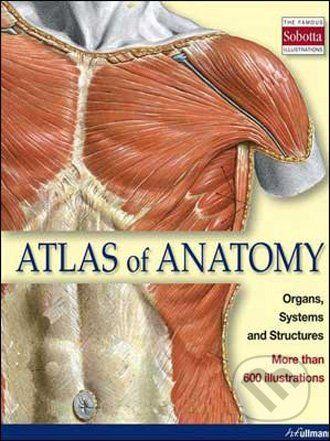 Könemann Atlas of Anatomy - cena od 1000 Kč