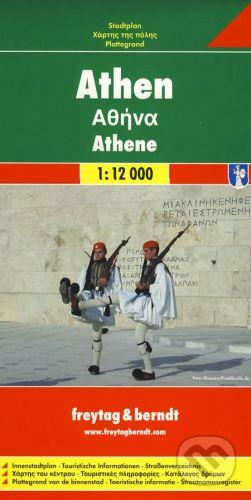 freytag&berndt Athen 1:12 000 - cena od 140 Kč
