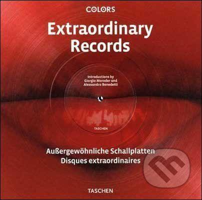 Taschen Extraordinary Records - Giorgio Moroder, Alessandro Benedetti cena od 449 Kč