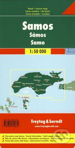 freytag&berndt Samos 1:50 000 - cena od 190 Kč