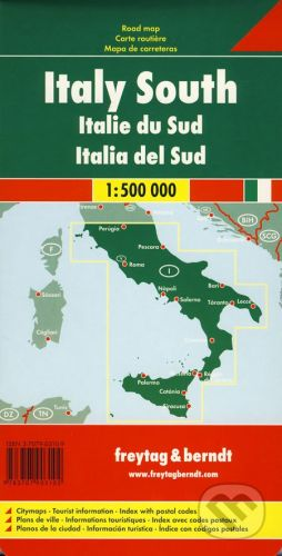 freytag&berndt Italy South 1:500 000 - cena od 190 Kč