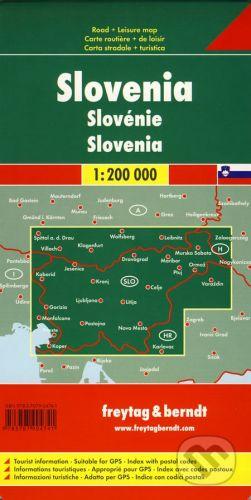 freytag&berndt Slovinsko 1:200 000 - cena od 285 Kč