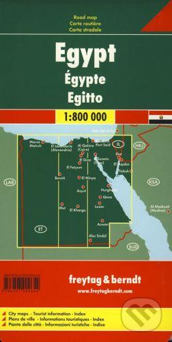 freytag&berndt Egypt 1:800 000 - cena od 172 Kč