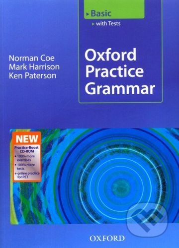 Oxford University Press Oxford Practice Grammar Basic with Key + CD-ROM - cena od 463 Kč