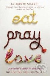 XXL obrazek Bloomsbury Eat, Pray, Love - Elizabeth Gilbert