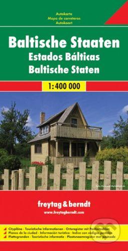 freytag&berndt Baltische Staaten 1:400 000 - cena od 195 Kč