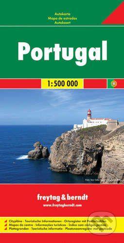freytag&berndt Portugal 1:500 000 - cena od 190 Kč