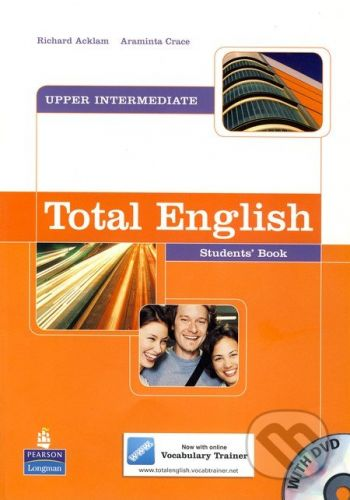 Longman Total English - Upper-Intermediate - Student's Book with DVD - R. Acklam, A. Crace cena od 495 Kč