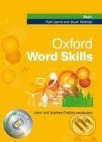 Redman S. Gairns R.: Oxford Word Skills Basic: Student´S Pack (Book + Cd-Rom) cena od 368 Kč