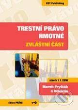 Key publishing Trestní právo hmotné - Marek Fryšták a kolektív cena od 140 Kč
