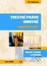 Key publishing Trestní právo hmotné - Marek Fryšták a kolektív cena od 259 Kč