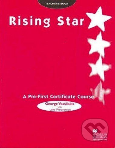 MacMillan Rising Star - A Pre-First Certificate Course -Teacher's Book - cena od 639 Kč