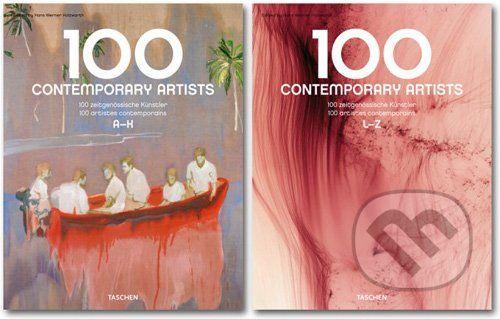 Hans Werner Holzwarth: 100 Contemporary Artists cena od 1011 Kč