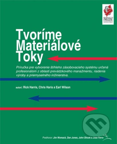 Slovenské centrum produktivity Tvoríme materiálové toky - Rick Harris, Chris Harris, Earl Wilson cena od 858 Kč