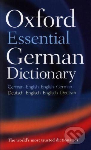 Oxford University Press Oxford Essetial German Dictionary - cena od 154 Kč