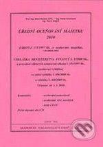 Akademické nakladatelství CERM Úřední oceňování majetku 2010 - cena od 83 Kč
