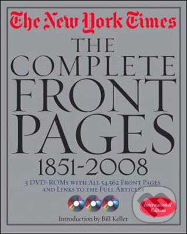 Bill Keller: The New York Times: The Complete Front Pages 1851-2009 cena od 299 Kč