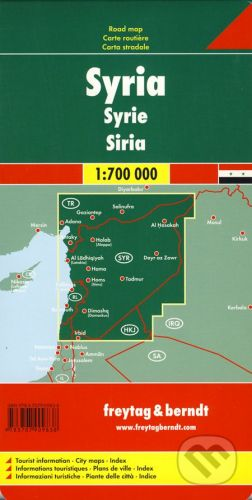 freytag&berndt Syria 1:700 000 - cena od 218 Kč