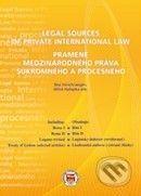 Eurokódex Legal Sources of Private International Law / Pramene medzinárodného práva súkromného a procesného - Bea Verschraegen, Miloš Haťapka cena od 769 Kč
