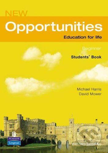 Pearson, Longman New Opportunities - Beginner - Michael Harris, David Mower cena od 408 Kč