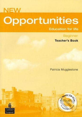 Pearson, Longman New Opportunities - Beginner - Patricia Mugglestone cena od 787 Kč
