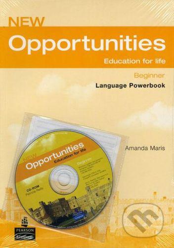 Pearson, Longman New Opportunities - Beginner - Amanda Maris, Patricia Reilly cena od 201 Kč