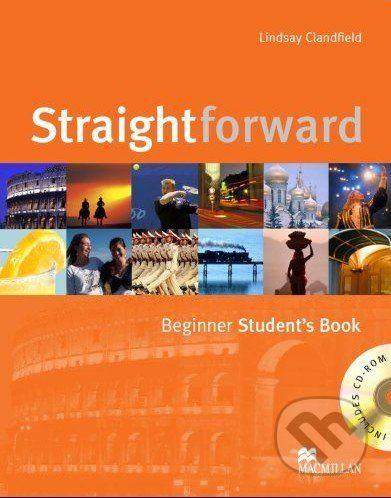 MacMillan Straightforward - Beginner - Student's Book + CD-ROM - Lindsay Clandfield cena od 455 Kč