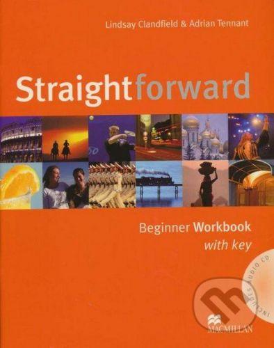 MacMillan Straightforward - Beginner - Workbook with Key - Lindsay Clandfield, Adrian Tennant cena od 180 Kč