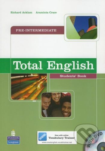 Pearson, Longman Total English - Pre-Intermediate - R. Acklam, A. Crowe cena od 445 Kč