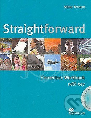 MacMillan Straightforward - Elementary - Workbook with Key - Adrian Tennant cena od 239 Kč