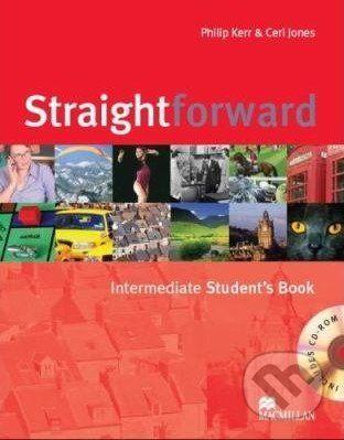 MacMillan Straightforward - Intermediate - Student's Book + CD-ROM - Philip Kerr, Ceri Jones cena od 456 Kč