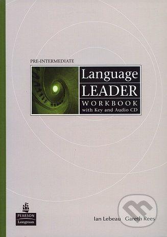 Pearson, Longman Language Leader - Pre-Intermediate - D. Cotton a kolektív cena od 292 Kč