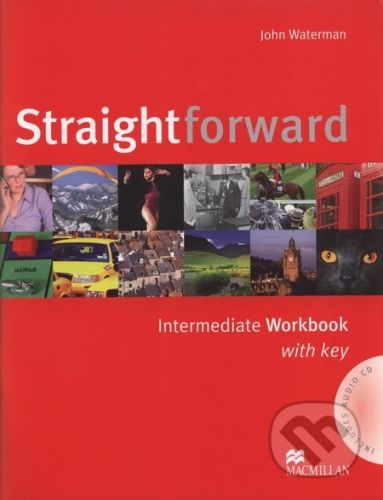 MacMillan Straightforward - Intermediate - Workbook with Key - John Waterman cena od 113 Kč