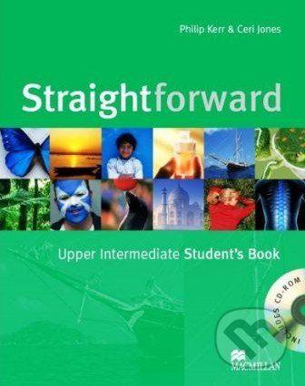 MacMillan Straightforward - Upper Intermediate - Student's Book + CD-ROM - Philip Kerr, Ceri Jones cena od 456 Kč