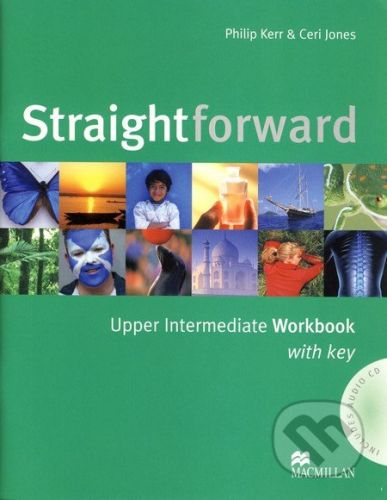 MacMillan Straightforward - Upper Intermediate - Workbook with Key - Philip Kerr, Ceri Jones cena od 179 Kč