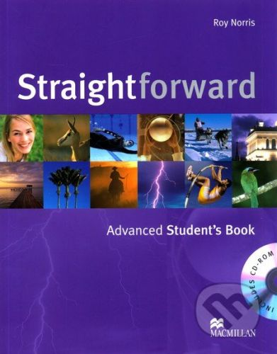 MacMillan Straightforward - Advanced - Student's Book + CD-ROM - Roy Norris cena od 455 Kč