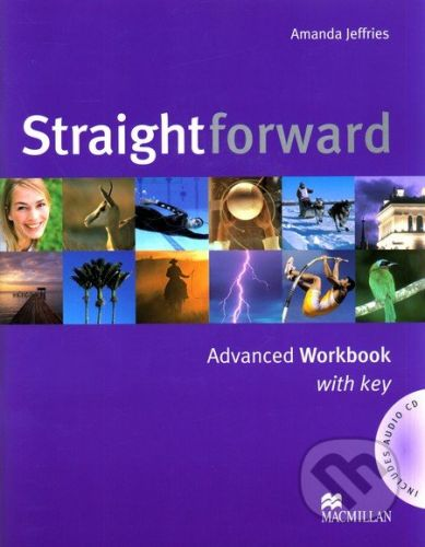 MacMillan Straightforward - Advanced - Workbook with Key - Amanda Jeffries cena od 180 Kč