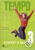 MacMillan Tempo 3 - Student's Book - Chris Barker cena od 239 Kč