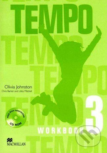 XXL obrazek MacMillan Tempo 3 - Workbook - Olivia Johnston