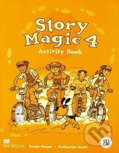 MacMillan Story Magic 4 - Activity Book - Susan House, Katharine Scott cena od 188 Kč