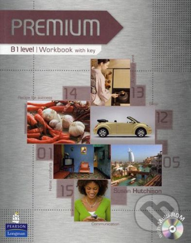 Pearson, Longman Premium - B1 - Susan Hutchinson cena od 471 Kč