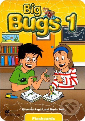 MacMillan Big Bugs 1 - Flashcards - Elisenda Papiol, Maria Toth cena od 523 Kč