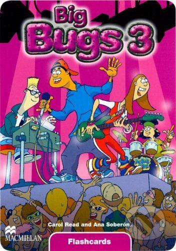 MacMillan Big Bugs 3 - Flashcards - Carol Read, Ana Soberón cena od 479 Kč