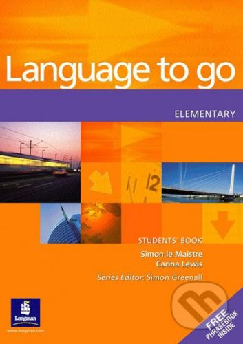 Pearson, Longman Language to Go - Elementary - Simon Le Maistre, Carina Lewis cena od 626 Kč