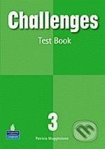 Pearson, Longman Challenges 3 - Patricia Mugglestone cena od 94 Kč