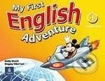 Pearson, Longman My First English Adventure 1 - Mady Musiol, Magaly Villarroel cena od 261 Kč