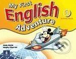 Pearson, Longman My First English Adventure 1 - Mady Musiol, Magaly Villarroel cena od 175 Kč